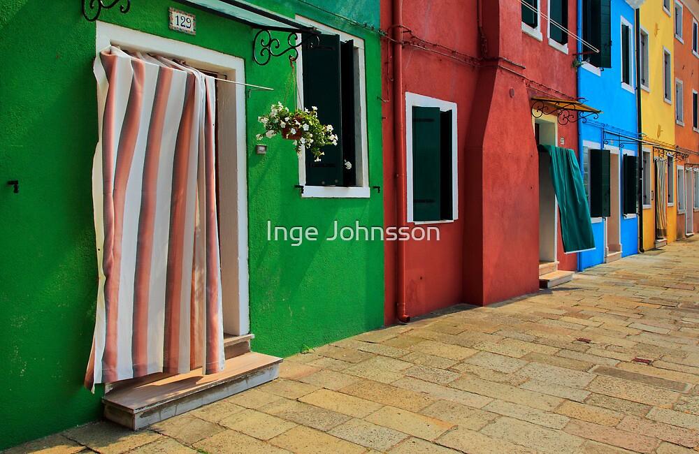 Burano Row by Inge Johnsson