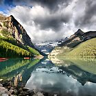 Lake Louise, Banff National Park by Teresa Zieba