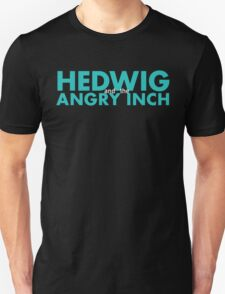 Hedwig and the Angry Inch - Aqua Unisex T-Shirt
