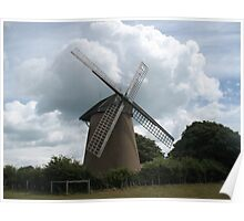 Moody windmill Poster