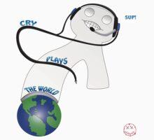 Cry Plays the World by PyroSomniac