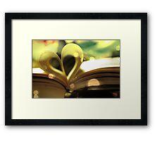 Book Love Framed Print