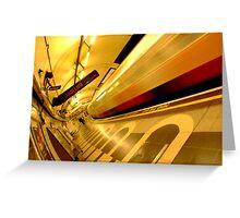 London Underground Color World Greeting Card