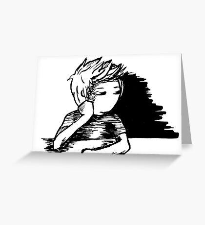I Should Do Work, I'll Dream Instead Greeting Card