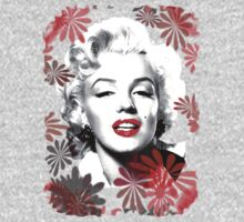 Marilyn`s Blooming Beauty by Fotasia