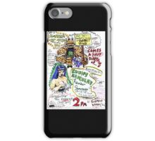 Kount Kracula's Review Showcase -TV Show Promo Poster #2 iPhone Case/Skin