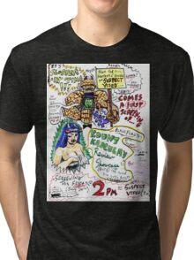 Kount Kracula's Review Showcase -TV Show Promo Poster #2 Tri-blend T-Shirt