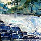 Stainforth Foss,Yorkshire Dales by Glenn Marshall