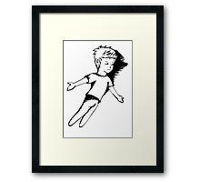 I Dreamt I Was Flying Framed Print