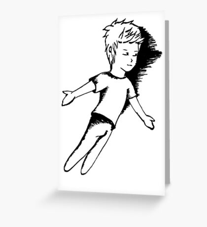 I Dreamt I Was Flying Greeting Card