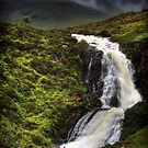 Waterfall, Eas a'Bhradain, Isle of Skye, Scotland by photosecosse /barbara jones