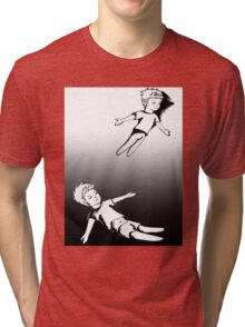 I Dreamt I Was Flying, In Reality I Was Falling Tri-blend T-Shirt