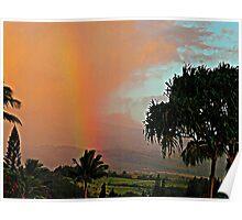 ~ Maui Rainbow ~ Poster