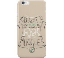 Muggle Tee iPhone Case/Skin