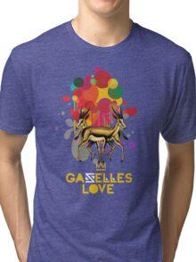 Gazelles Love Tri-blend T-Shirt
