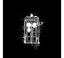 Time Lord Graffiti Photographic Print