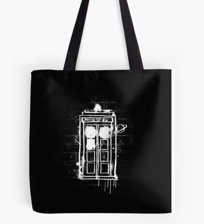 Time Lord Graffiti Tote Bag
