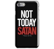 not today satan, Bianca del Rio.  iPhone Case/Skin