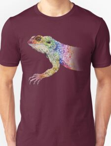 bearded dragon rainbow Mix Unisex T-Shirt