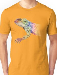 bearded dragon rainbow Mix Unisex T-Shirt