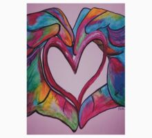 Universal Sign for Love - You Hold my Heart in Your Hand Kids Clothes