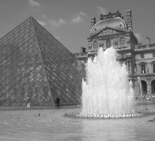 The Louvre by GeorgiaLove