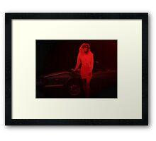 Scarlett in Scarlett Framed Print