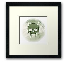 Guild Wars 2 Inspired Necromancer logo Framed Print