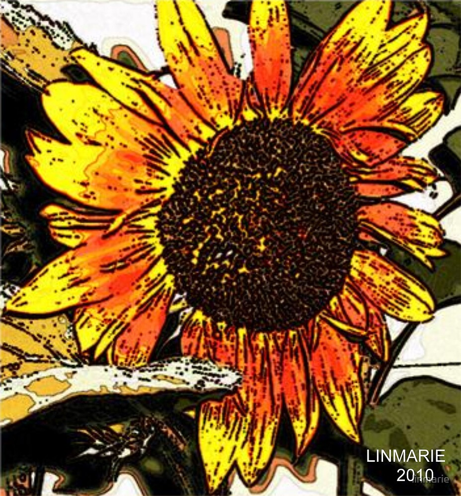 Fresco Sunflower by linmarie