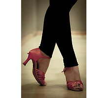 Salsa dance shoes. Women. Photographic Print