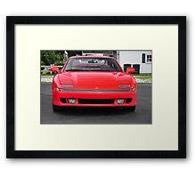 Red Mitsubishi 3000 GT Framed Print