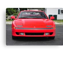 Red Mitsubishi 3000 GT Canvas Print