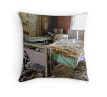 The end of healthcare Throw Pillow