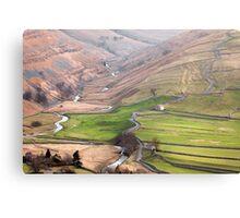 Cowside Beck & Brootes Lane Canvas Print