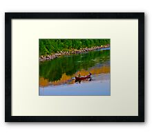 The Queen of Salmon Rivers - Namsen - Norway. by Brown Sugar . Views (446) . Favs (4) Waaaaws !!! Thank you friends !!! Framed Print