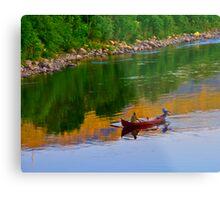 The Queen of Salmon Rivers - Namsen - Norway. by Brown Sugar . Views (446) . Favs (4) Waaaaws !!! Thank you friends !!! Metal Print