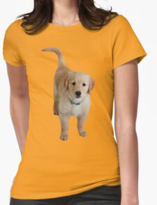 Cute Lil Puppy Womens Fitted T-Shirt