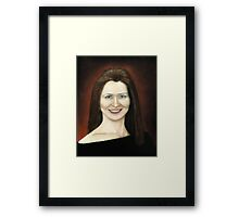 Portrait of Fulya Framed Print