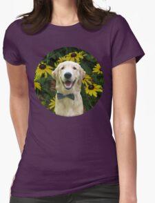 Classy Golden Retriever Womens Fitted T-Shirt