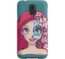Sugar Skull Series: Ariel Samsung Galaxy Case/Skin