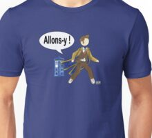 Doctor Who #10 - Allons-y Unisex T-Shirt