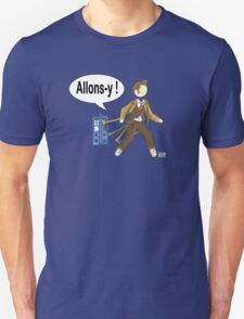 Doctor Who #10 - Allons-y T-Shirt