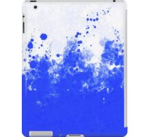 Blue Ink iPad Case/Skin