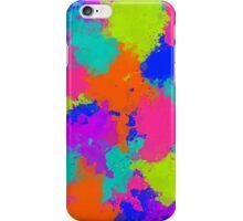 Multicoloured ink! iPhone Case/Skin