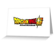 Dragon Ball Super Greeting Card