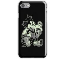 MICKTHULHU MOUSE (monochrome) iPhone Case/Skin