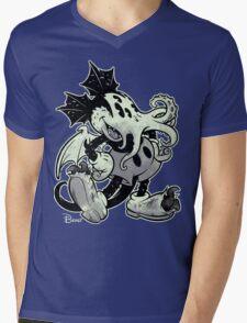 MICKTHULHU MOUSE (monochrome) Mens V-Neck T-Shirt