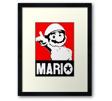 Che Mario Framed Print