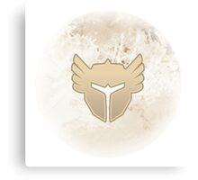 Guild Wars 2 Inspired Warrior logo Canvas Print