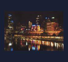 0833 City at Night 2 One Piece - Short Sleeve